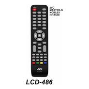 Control Remoto Tv Lcd Led Para Jvc Noblex Hitachi Master G