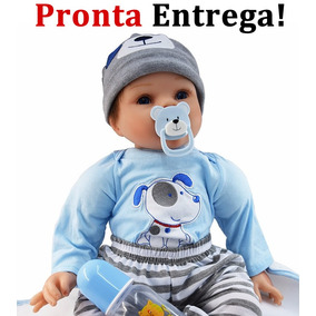Pronta Entrega Bebe Reborn Barato Boneca Bebê Reborn Menino