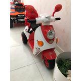 Moto Electrica Con Control Remoto Y Manual Recargable