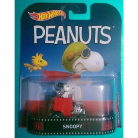 Hot Wheels Retro Snoopy Peanuts Llantas De Goma