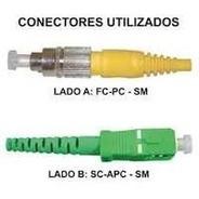 Cordão Óptico Sc-apc / Fc-pc (20 Mts) Vendo Outros Tamanhos