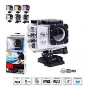 Camara Tipo Go Pro Full Hd 1080p Water Resistant Espectacula