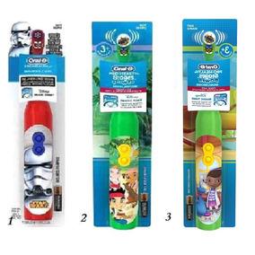 3 Escovas Elétrica Infantil Disney Oral B Stages Power