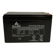 Batería Agm Lp12-9.0 Allsai Garantía 1 Año