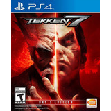 Juego Ps4 Tekken 7 Day One Edition Ps4