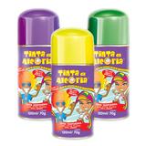 Tinta Colorida Para Cabelo Em Spray   120ml