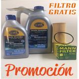 Aceite Sintetico 5w30 Hella Garrafa 5l + 1l Filtro Jetta 2.5