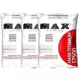 Combo 3x Massa Hipercalorico Max Titanium 9kg - Últimas Unid