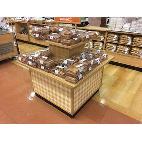 Mueble Exhibidor De Panadería