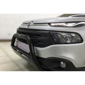 Parachoque / Quebra Mato / Protetor Fiat Toro Tubular Preto