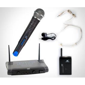 Microfone S Fio Mão, Headset E Lapela Uhf Ms215 Cli Tsi
