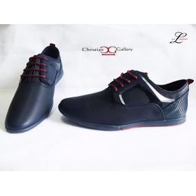 Zapato Caballero Christian Galery Azul Barato Envío Gratis