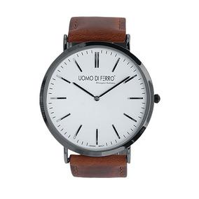 Reloj De Pulso Uomo Di Ferro Café/blanco 164477 Pm 1-18