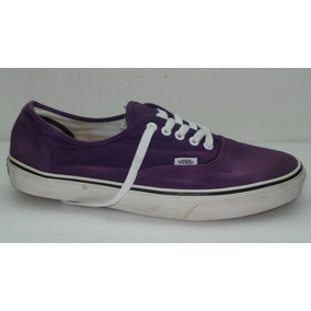 Zapatillas Vans Talle Us12- Arg45.5 Lila Usadas All Shoes