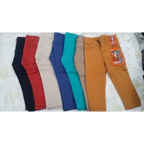 Pantalón De Color De Niño