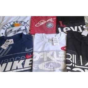Kit C/ 10 Camisetas De Marca Atacado Revenda E Lucre