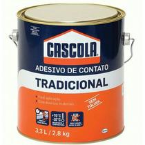 Cola Adesiva Cascola Contato Placa Forrorama 3,3 Litro 2,8kg