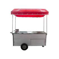 Carro Para Hotdog Y Hamburguesa Vaporera Plancha Freidora