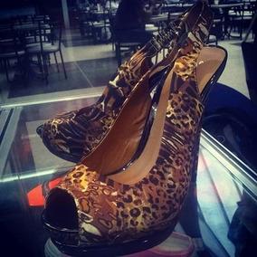 Zapatos Tacones Animal Print Anne Michelle Ofertazo