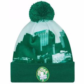 Boston Celtics New Era My City Gorro Beanie Lana Pom Nba