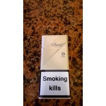 Cigarrillos Davidoff Gold Slims Importados Box De 20 Lleno!!