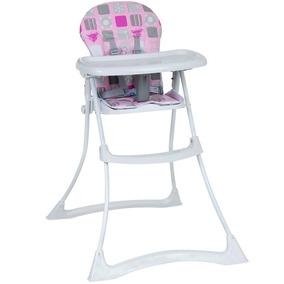 Cadeira Alimentação Bon Appetit Patchwork Rosa Burigotto
