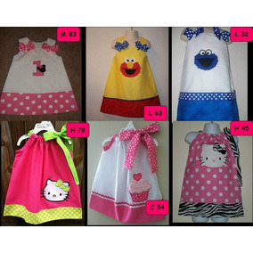 Vestidos Niña Bebe De Minnie ,coquito, Elmo, Hello Kitty