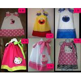 Vestidos Niña Bebe De Minnie ,coquito, Elmo, Hello Kitty