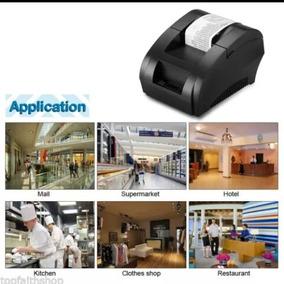 Impresora Tickera Termica 58mm Para Loteria,parley,comanda