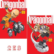 Dragon Ball Edição Definitiva 2 E 3 Capa Dura! Mangá Panini!