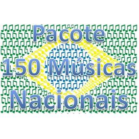 Pacote 150 Músicas - Nacionais, Funk, Sertanejo, Forró, Dj