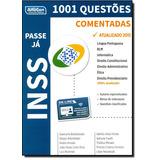 Inss: 1.001 Questões Comentadas - Coleção Passe Já