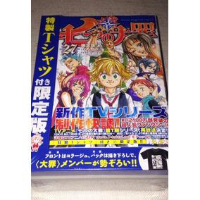 Camisa + Mangá Volume 27 Japonês The Seven Nanatsu No Taizai