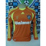 Camisa De Goleiro Fluminense Laranja - Futebol no Mercado Livre Brasil 6162eb6c5d892