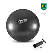 Bola Suiça 65 Cm C/ Bomba Ribermedica Yoga Pilates Fitness