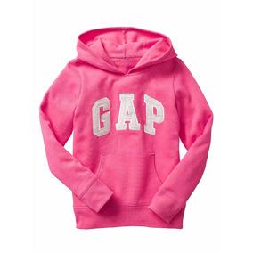 Gap Agasalho Moletom Infantil Menina Com Logo 100% Original