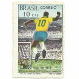 Selo 1.000 Gol De Pelé - 1969