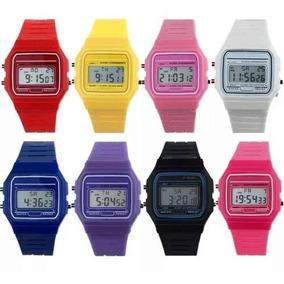 58a47bdda4d9 Reloj Casio Retro Colores - Relojes en Mercado Libre México
