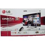 Televisor Lg, Smart Tv, 3d, Led. 47