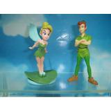 Peter Pan E Tinker Bell - Disney Uma Aventura Disney