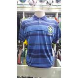 Camisa Polo Passeio Seleção Brasileira Meltex