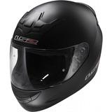 Casco Moto Integral Ls2 Helmets Ff 352 Negro Opaco