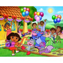 Dora La Exploradora - Dibujitos Animados - Lámina 45x30 Cm.