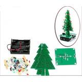 Árbol Navidad Led Diy Kit Rojo / Verde / Amarillo Led