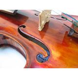 Violino 4/4 Envelhecido Entalhado Artesanal Luthier