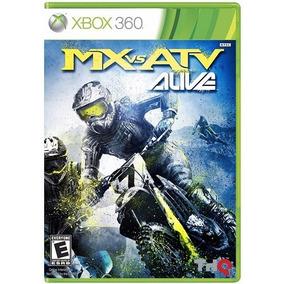 Mx Vs Atv Alive Mídia Física Lacrado Novo - Xbox 360