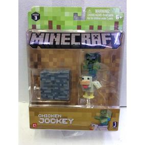 Figura De Minecraft Chicken Jockey