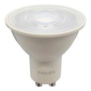 Pack X10 Dicroicas Led Philips Gu10 5w = 50w Calidas Fria