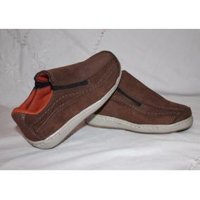 Zapato Casual Numeros 23 Al 26 Mocasín De Cuero