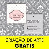 3000 Tag Etiqueta Roupa E Bijuteria 5 Modelos Arte Grátis